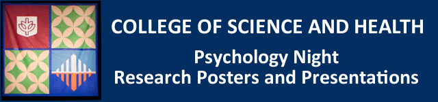 Psychology Night Research Posters and Presentations