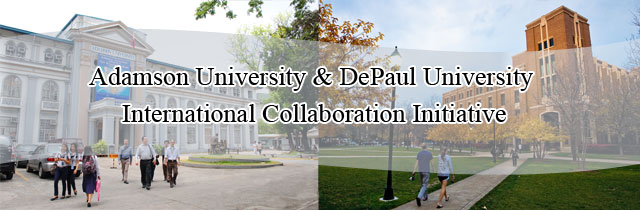 Adamson and DePaul Universities International Collaboration Initiative