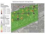 Potential Green Alleyways for Little Village Schools