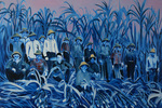 Canefield Workers by Laura Kina
