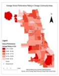 September 2013: Average School Performance Rating in Chicago Community Areas