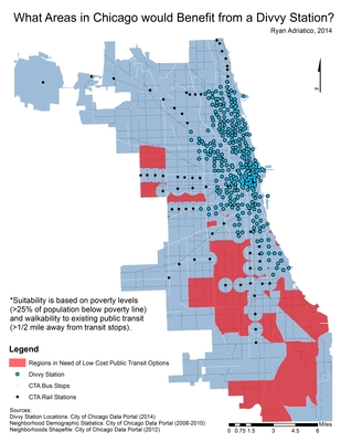 February 2015: What Areas In Chicago Would Benefit From A Divvy