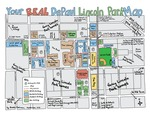 October 2016: Your Real DePaul Lincoln Park Map by Brooke Robinson