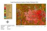 May 2017: Land Classification Analysis of Omaha, Nebraska by Elena Becerril