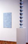 Endless column, blue and white variation