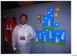 Will Red Buhay at the opening of MGA Patrong Pilipino by Willi Red Buhay