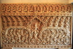 Cambodian American Heritage Museum & Killing Fields Museum (stone carving)
