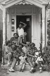 Family On The Front Steps, St. Paul, Minnesota