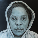 In The Hood-Portraits of African American Professionals Wearing a Hoodie #4