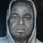 In The Hood-Portraits of African American Professionals Wearing a Hoodie #5