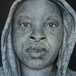 In The Hood-Portraits of African American Professionals Wearing a Hoodie #6