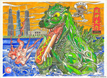 Sun Tzu from the Godzilla Invading series