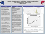 Political affiliation as it pertains to studying aggression