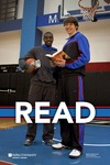 READ Poster with DePaul Men's Basketball Players