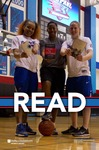 READ Poster with DePaul Women's Basketball Players
