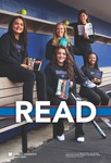 READ Poster with DePaul Women's Softball Team