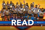 2016-2017 Women's Volleyball READ Poster