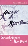 Louise de Marillac: Social Aspects of Her Work by Margaret Flinton D.C.